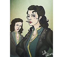Fallout: Femme!snakes Photographic Print