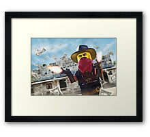 Take the Stage(coach) Framed Print