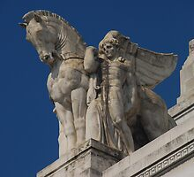 Milano Centrale - Detail by Peter Reid