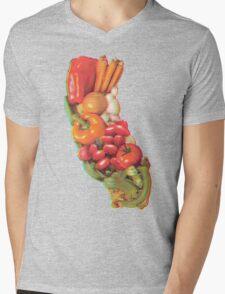 California Mens V-Neck T-Shirt