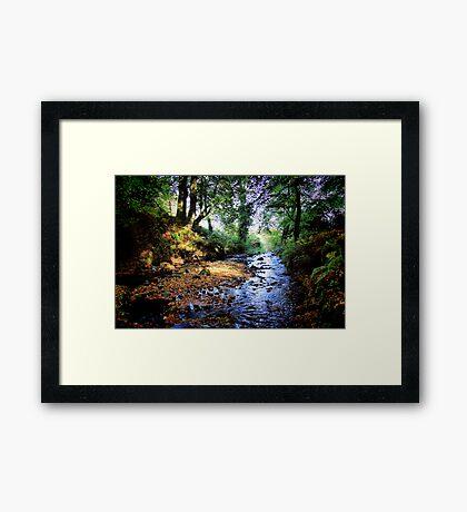 Gleno Falls (6) Framed Print
