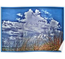 Florida Clouds HDR Poster