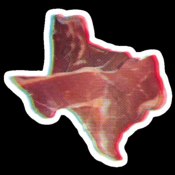 Texas in 3D by Karl Frey