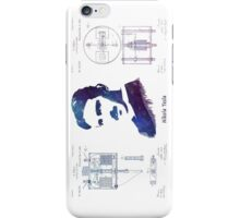 Nikola Tesla Patent Art Electric Arc Lamp iPhone Case/Skin
