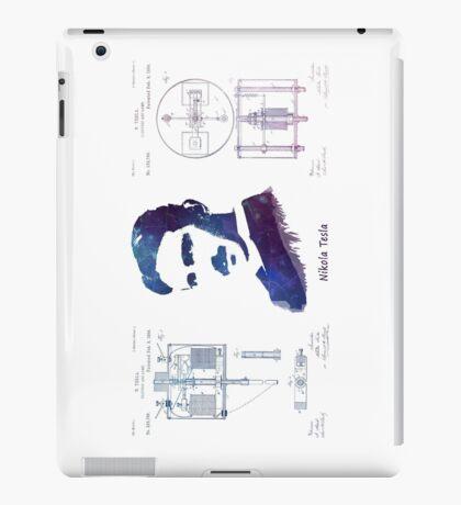Nikola Tesla Patent Art Electric Arc Lamp iPad Case/Skin