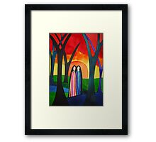 Ladies Of The Autumn Framed Print
