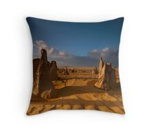 Pillars of Society, Nambung NP, WA Throw Pillow