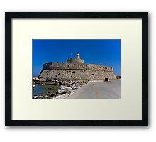 St Nicholas Fortress Framed Print