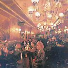 """sf Historic Gold Dust Lounge Interior KORO """"barchaProcess"""" by barcha"""
