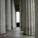 The Columns of the Lincoln Memorial by Bine