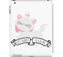 Marie - Cats Against Catcalling iPad Case/Skin