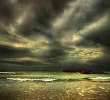 Moody Ocean by Heather Prince