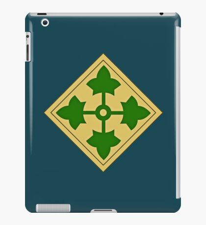 4th Infantry Division iPad Case/Skin