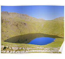 The Lake District: Angle Tarn under Bow Fell  Poster