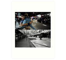 Like Night and Day - Lads - 2009 Portfolio Project Art Print