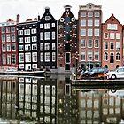 Amsterdam. Damrak pano by andreisky