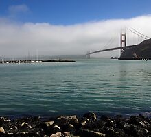 Golden Gate Bridge San Francisco Bay by stevelink