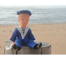 The Little Sailor Man Photographic Print