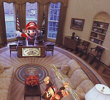"""""""Super Mario in the Whitehouse..."""" by atomikboy"""