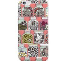 weird pickles coral iPhone Case/Skin