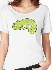 Polka Dot Chameleon Women's Relaxed Fit T-Shirt