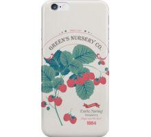 Veg Love Collection No.4 Raspberry iPhone Case/Skin