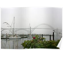 Yaquina bay bridge Poster