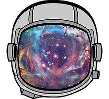 Space helmet by JOlorful