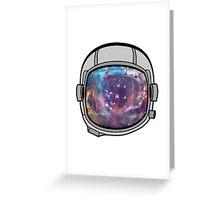 Space helmet Greeting Card