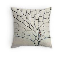 Wire tree Throw Pillow