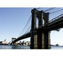 Brooklyn Bridge NY-City Photographic Print