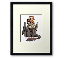 How to train your dragon ! Framed Print