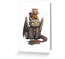 How to train your dragon ! Greeting Card
