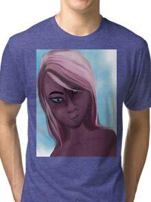 pink doll Tri-blend T-Shirt