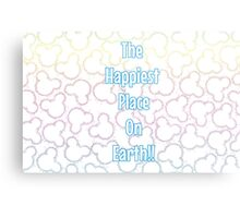 Happiest Place on Earth! Metal Print