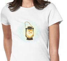 The Fairy in the Lantern Womens Fitted T-Shirt