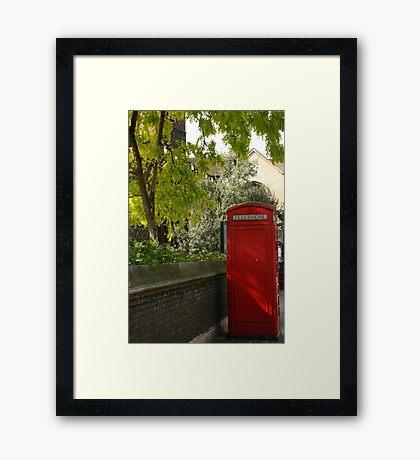 Phone Home.. Framed Print