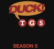 "30 Rock ""Duck!"" T-shirt by westonoconnor"