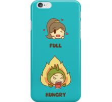 Hungry or hangry? iPhone Case/Skin