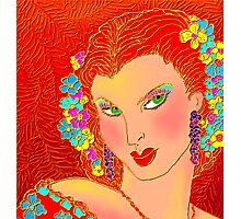 She's A Lady Photographic Print