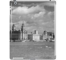 Liverpool Panoramic View - Monochrome iPad Case/Skin