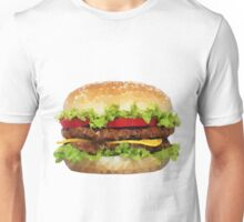 Triangular HAMBURGER Unisex T-Shirt