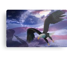 Patriot eagle Metal Print