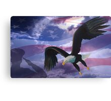 Patriot eagle Canvas Print