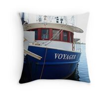 Patriotic Voyage Throw Pillow