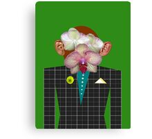 Mr. Orchid Monkey-Man Canvas Print