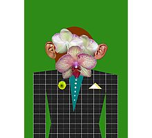Mr. Orchid Monkey-Man Photographic Print