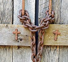 Chain and Wood Detail by stevelink