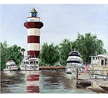 Harbour Town Light Photographic Print