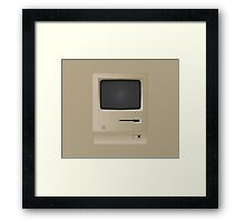 Old Retro Vintage PC Computer  Framed Print